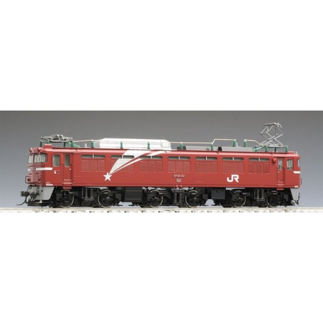 トミックス HOゲージ JR EF81形電気機関車(133号機・北斗星色・プレステージモデル) 鉄道模型 HO-169