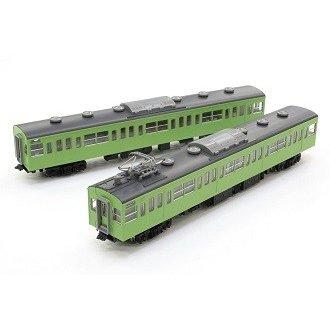 トミックス Nゲージ 国鉄 103系通勤電車(初期型冷改車・ウグイス)増結セット 鉄道模型 98211