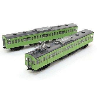 トミックス Nゲージ 国鉄 103系通勤電車(ユニットサッシ・ウグイス)増結セット 鉄道模型 98212