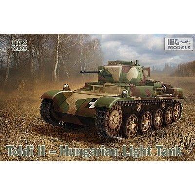 IBG  1/72 ハンガリー・38MトルディII 軽戦車・20mm砲型後期 スケールプラモデル PB72028