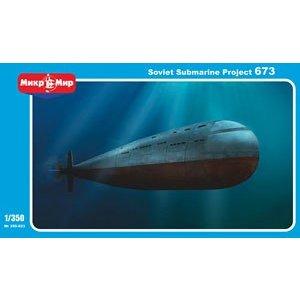 AVIS 1/350 露・プロジェクト673型原子力潜水艦 スケールモデル AVM9323