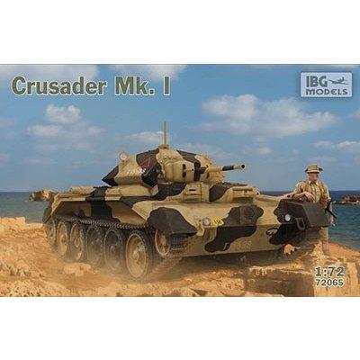 IBG 1/72 英・クルセーダーMk.I巡航戦車VI型 スケールプラモデル PB72065