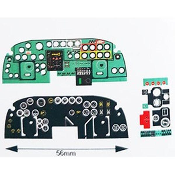 【5月予約】ヤフーモデル 1/32 B-24Jリベレター・着色計器板・ホビーボス 模型用グッズ YMA3251N