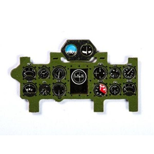 【5月予約】ヤフーモデル 1/48 A6M2零式艦上戦闘機21型・三菱色・着色計器板・タミヤ 模型用グッズ YMA4825