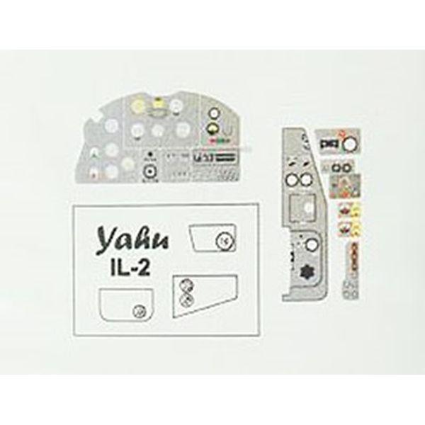 【5月予約】ヤフーモデル 1/48 イリューシンIL-2 シュトルモビク後期・着色計器板・タミヤ 模型用グッズ YMA4878