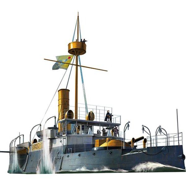 【5月予約】ブロンコモデルズ 1/144 清国装甲巡洋艦・平遠(ヘイエン)1890日清戦争 (KB14005) スケールモデル CBS14005