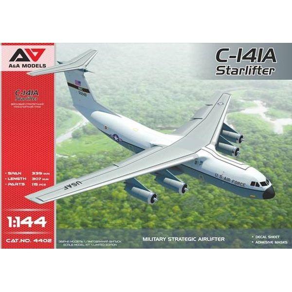 【5月予約】A&Aモデルズ 1/144 米・ロッキードC-141Aスターリフター戦略輸送機 スケールモデル MVA14402