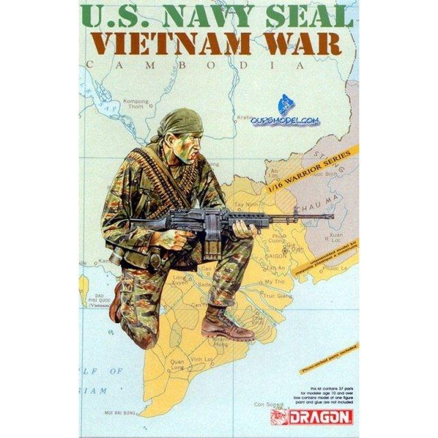 ドラゴン 1/16 ベトナム戦争 米海軍 特殊部隊 ネイビーシール 模型用グッズ DR1607