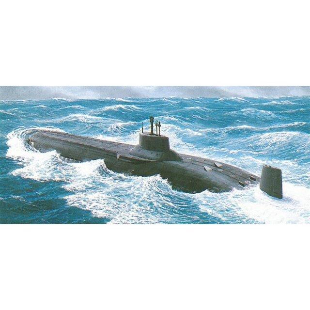 【1月予約】ドラゴン 1/350 ソビエト軍 原子力潜水艦 タイフーン スケールモデル DR1001