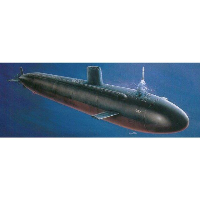 【12月予約】ドラゴン 1/350 アメリカ海軍 原子力潜水艦 U.S.S.ハンプトン スケールモデル DR1010