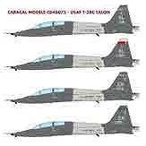 【4月予約】カラカルモデル 1/48 アメリカ空軍 T-38C タロン デカール 模型用グッズ CD48072