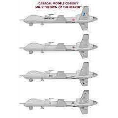 """【4月予約】カラカルモデル 1/48 無人航空機 MQ-9 """"リーパーの帰還"""" デカール 模型用グッズ CD48077"""