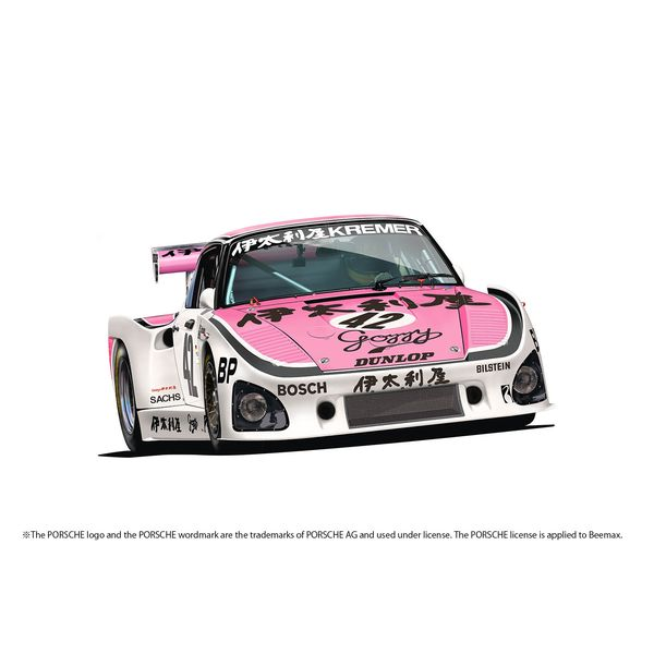 【6月予約】プラッツ/NuNu 1/24 レーシングシリーズ ポルシェ 935 K3 /80 伊太利屋 1980 ル・マン24時間レース スケールモデル PN24029
