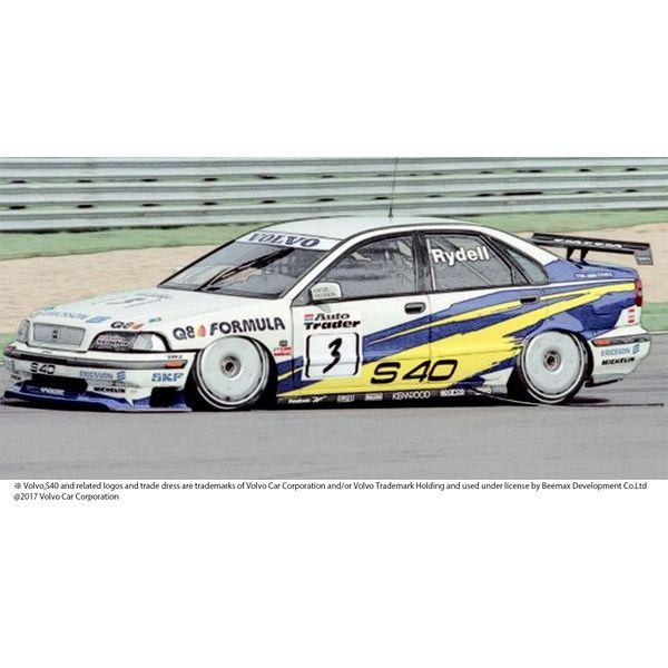 【7月予約】プラッツ/NuNu 1/24 レーシングシリーズ ボルボ S40 1997 BTCC ブランズハッチ ウィナー スケールモデル PN24034