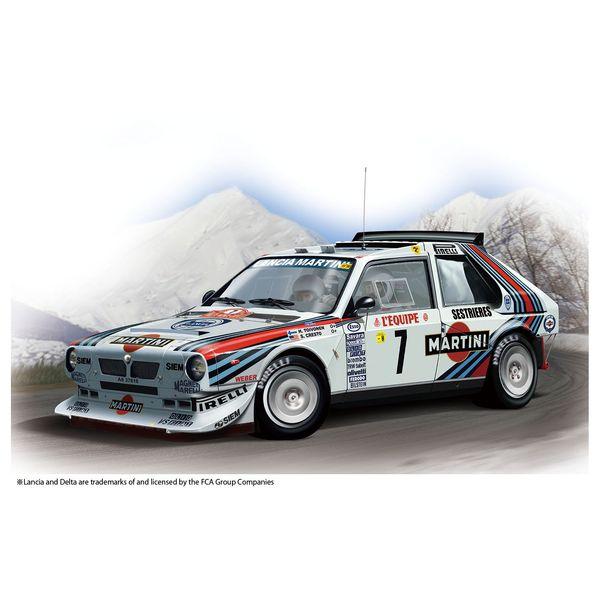 【7月予約】プラッツ/NuNu 1/24 レーシングシリーズ ランチア デルタ S4 '86 モンテカルロラリー スケールモデル PN24030