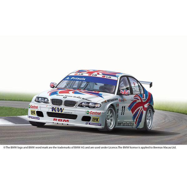【8月予約】プラッツ/NuNu 1/24 レーシングシリーズ BMW 320i E46 2004 ETCC ドニントン ウィナー スケールモデル PN24033