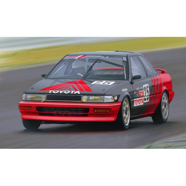 【8月予約】プラッツ/NuNu 1/24 レーシングシリーズ トヨタ カローラ レビン AE92 Gr.A 1991 オートポリス スケールモデル PN24025