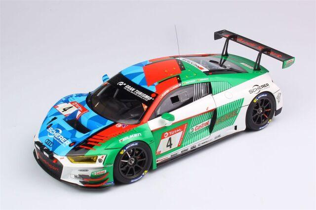 【12月予約】プラッツ/NuNu 1/24 レーシングシリーズ アウディ R8 LMS EVO 2019 ニュルブルクリンク24時間レース ウィナー スケールモデル PN24026