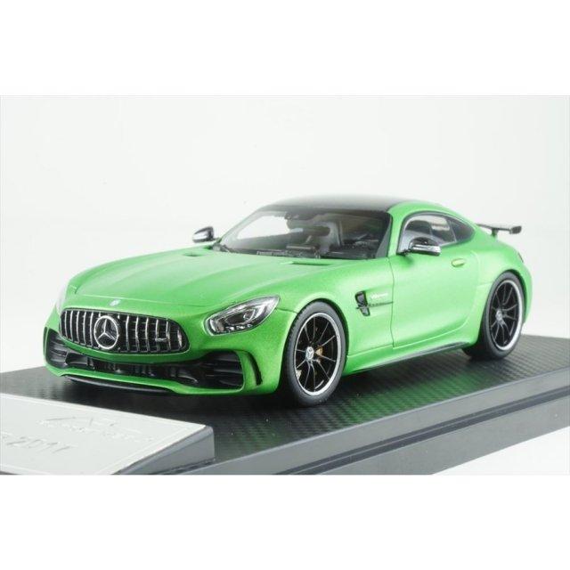 オールモストリアル 1/43 メルセデス AMG GT R マットグリーン 完成品ミニカー AL420704