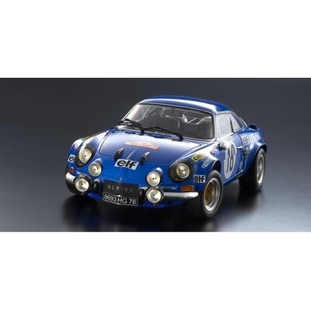 【50%OFF】京商 1/18 ルノー アルピーヌ A110 No.18 1973 WRC ラリー・モンテカルロ ウィナー J-C.アンドリュー/M.プティ【同梱種別A】 完成品ミニカー KS08485E