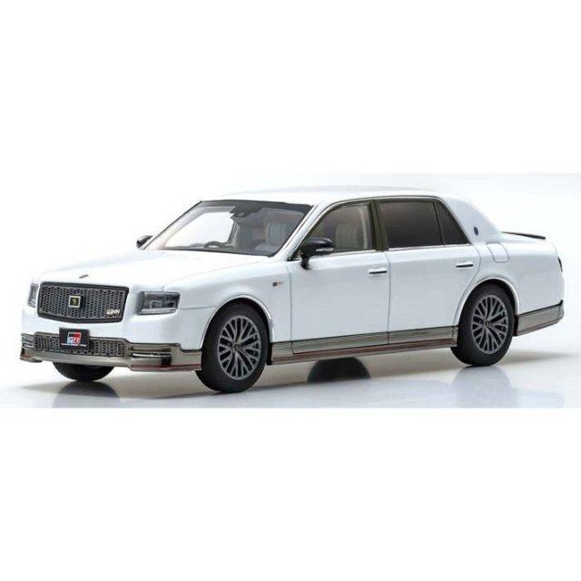京商 1/43 トヨタ センチュリー GRMN ホワイトパール 完成品ミニカー KS03694GW