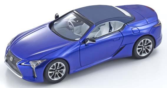 京商 1/43 レクサス LC500 コンバーチブル ストラクチュアルブルー 完成品ミニカー KS03902BL