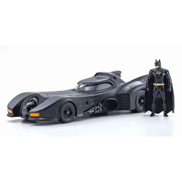 【33%OFF】JADATOYS 1/24 バットモービル バットマン 1989 バットマンフィギュア付 【同梱種別A】完成品ミニカー JADA98260