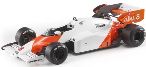 【6月予約】トップマルケス 1/18 マクラーレン MP4/2 No.8 1984 F1 N.ラウダ 完成品ミニカー GRP005AN