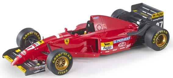 【6月予約】トップマルケス 1/18 フェラーリ 412 T2 No.27 1995 F1 J.アレジ 完成品ミニカー GRP048A