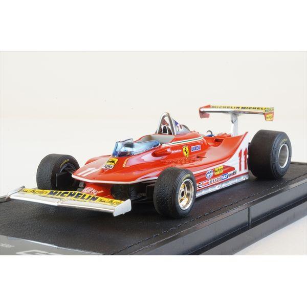 【7月予約】トップマルケス 1/43 GP REPLICAS フェラーリ 312 T4 No.11 F1 J.シェクター 完成品ミニカー GRP43012F