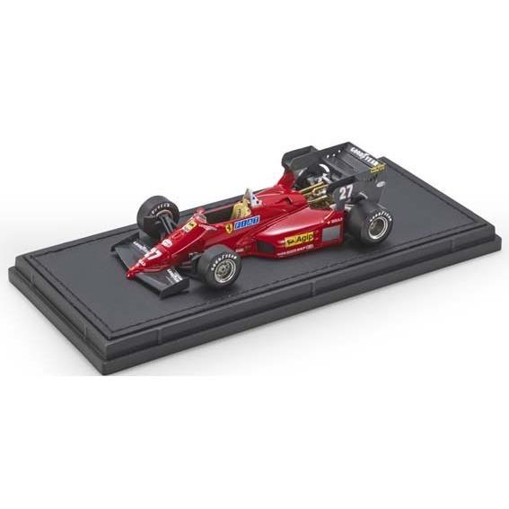 【7月予約】トップマルケス 1/43 GP REPLICAS フェラーリ 126 C4 No.27 F1 M.アルボレート 完成品ミニカー GRP43019A