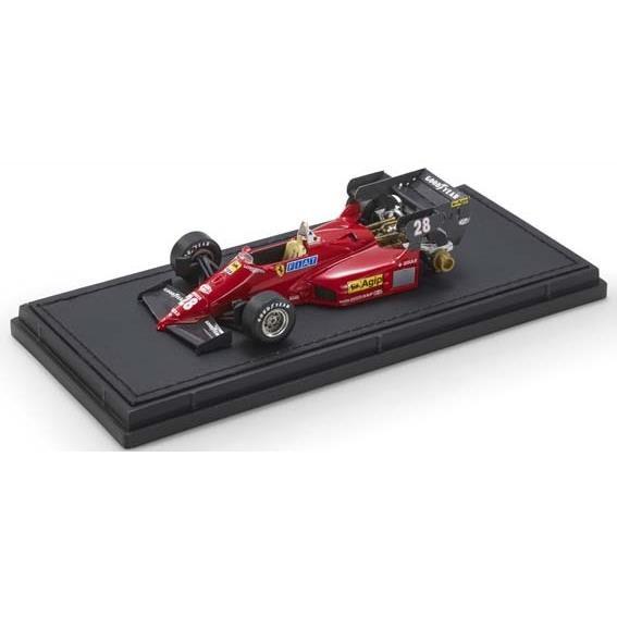 【7月予約】トップマルケス 1/43 GP REPLICAS フェラーリ 126 C4 No.28 F1 R.アルヌー 完成品ミニカー GRP43019B