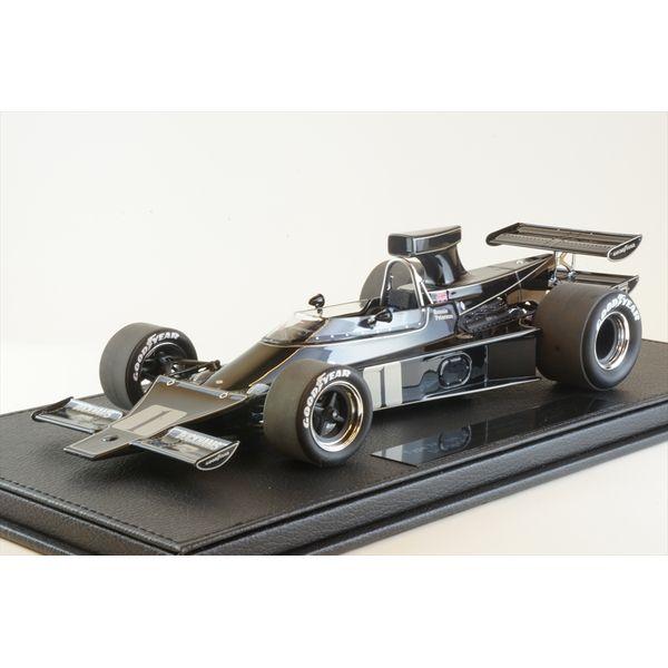 【7月予約】トップマルケス 1/18 GP REPLICAS ロータス 76 No.1 1975 F1 R.ピーターソン クリアケース+ベース付 完成品ミニカー GRP094A