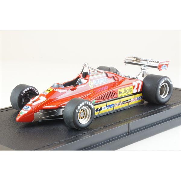 【12月予約】トップマルケス 1/43 フェラーリ 126 C2 No.27 1982 F1 G.ビルヌーブ 完成品ミニカー GRP43009A