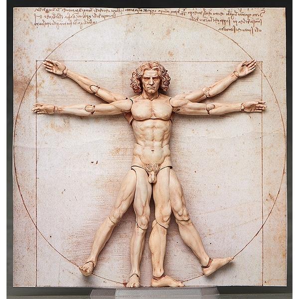 【4月予約】フリーイング figma ウィトルウィウス的人体図 「テーブル美術館」より フィギュア SP-075