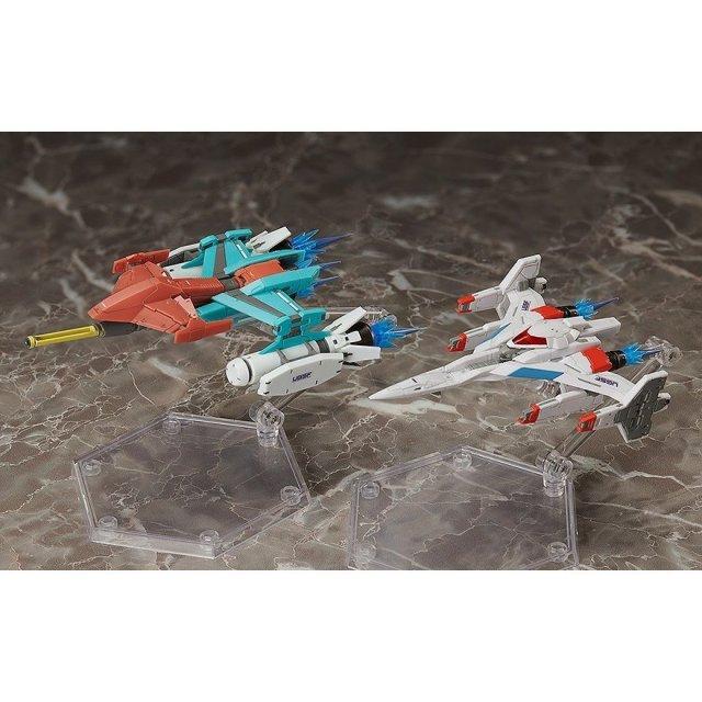 フリーイング figma Galaxian Galaxip GFX-D001a/Galaga Fighter GFX-D002f 「ギャラクシアン / ギャラガ」より フィギュア SP-123