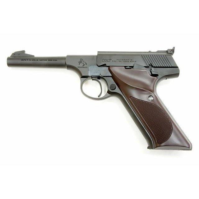クラフト・アップル・ワークス CAW コルト ウッズマン スポーツ ELLIASONサイト付モデル ヘビーウエイト ブラック 発火モデルガン(CAW-MA1112)