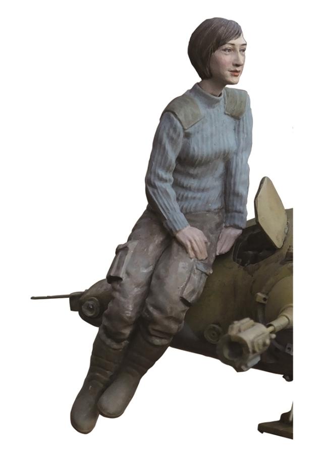 【2月予約】ブリックワークス 1/20 シュトラール軍 AI技官 「マシーネンクリーガー」より キャラクタープラモデル MUS-31