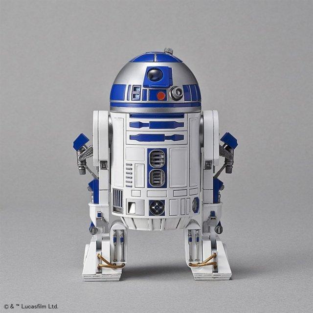 バンダイ 1/12 R2-D2(ロケットブースターVer.) 「STAR WARS」より プラモデル 5055339