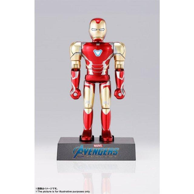 バンダイ 超合金HEROES アイアンマンマーク85 「アベンジャーズ/エンドゲーム」より フィギュア 4573102556318