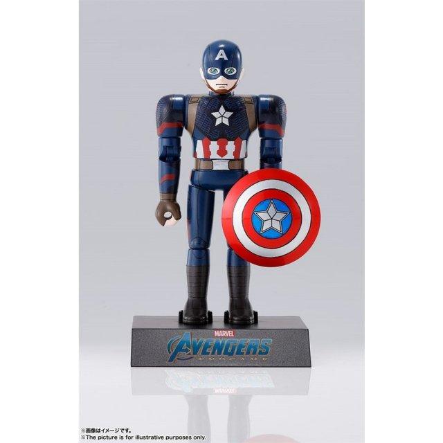 バンダイ 超合金HEROES キャプテン・アメリカ 「アベンジャーズ/エンドゲーム」より フィギュア 4573102556363