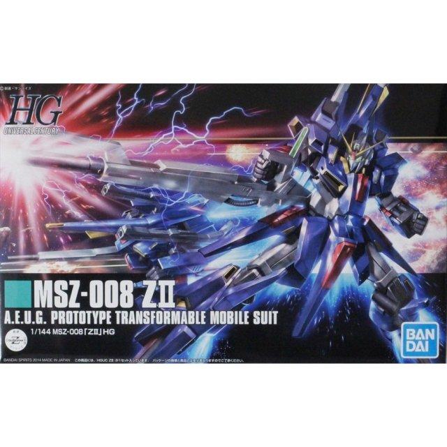 バンダイ HGUC 1/144 MSZ-008 ZII 「機動戦士Ζガンダム」より ガンプラ 4573102557568