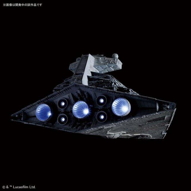 バンダイ 1/5000 スター・デストロイヤー[ライティングモデル] 「STAR WARS」より キャラクタープラモデル 5057625