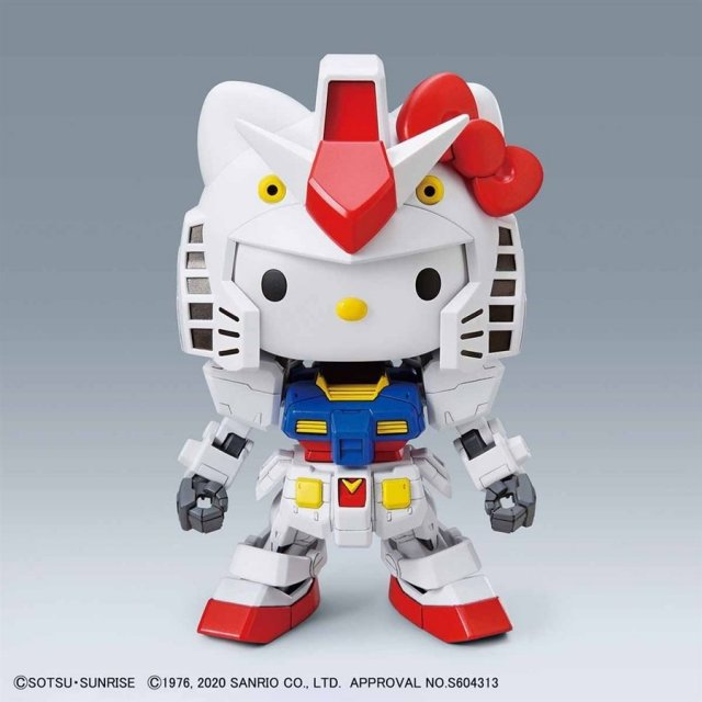 バンダイ ハローキティ/RX-78-2 ガンダム[SD EX-STANDARD] 「ハローキティ/機動戦士ガンダム」より ガンプラ 5058924