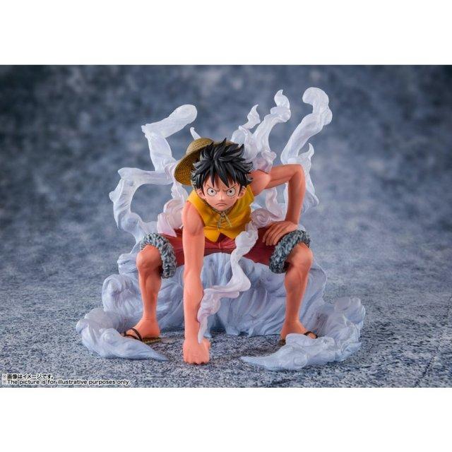 バンダイ フィギュアーツZERO[EXTRA BATTLE ]モンキー・D・ルフィ -頂上決戦- 「ワンピース」より フィギュア 4573102591845