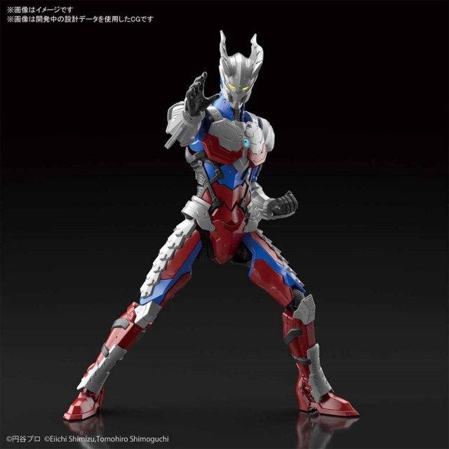 バンダイ FIGURE-RISE STANDARD ULTRAMAN SUIT ZERO-ACTION- 「ULTRAMAN」より キャラクタープラモデル 5060262