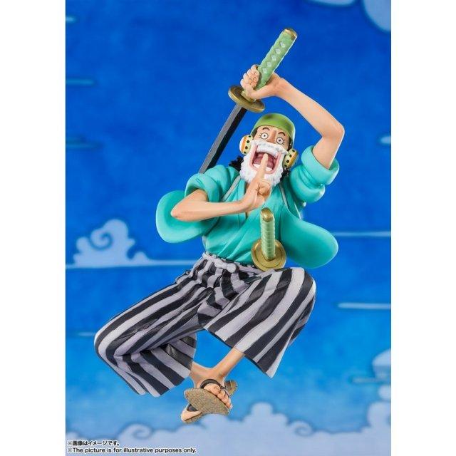バンダイ フィギュアーツZERO ウソップ(ウソ八) 「ワンピース」より フィギュア 4573102608420