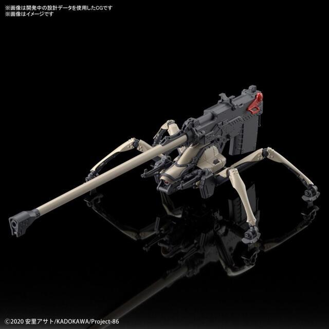 【6月予約】バンダイ HG 1/48 ジャガーノート 遠距離砲撃仕様 「86-エイティシックス-」より キャラクタープラモデル 5060932