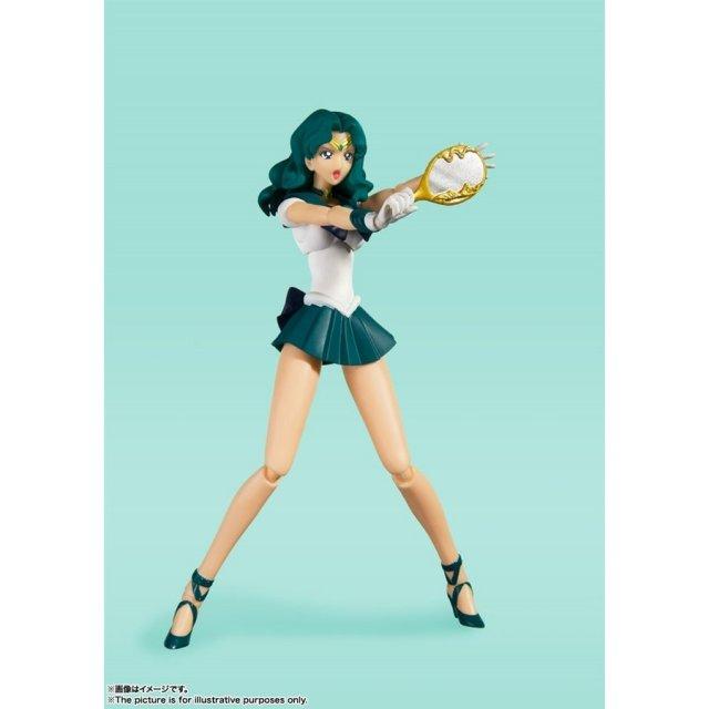 バンダイ S.H.Figuarts セーラーネプチューン -Animation Color Edition- 「美少女戦士セーラームーン」より フィギュア 4573102612816