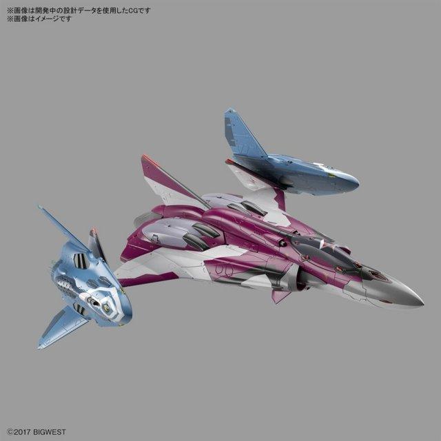 バンダイ 1/72 SV-262HSドラケンIII/リル・ドラケン(ミラージュ機) 「マクロスΔ」より キャラクタープラモデル 5061335